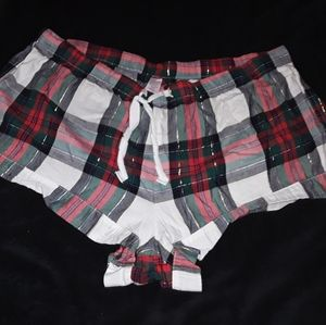 Victoria's Secret plaid shorts